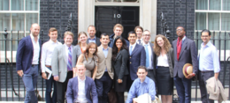 Nexus delegation at 10 Downing Street